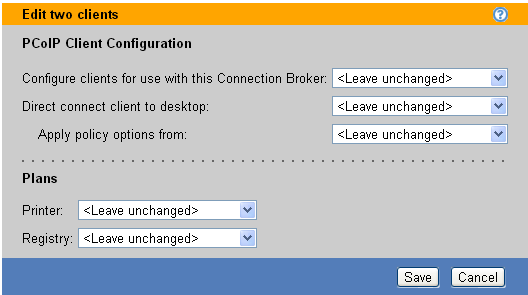 Chapter 12: Configuring User Experience by Client Location Broker Web Interface), set the client to connect directly to its hard-assigned host (see Direct Connections to Hard-Assigned Desktops), and