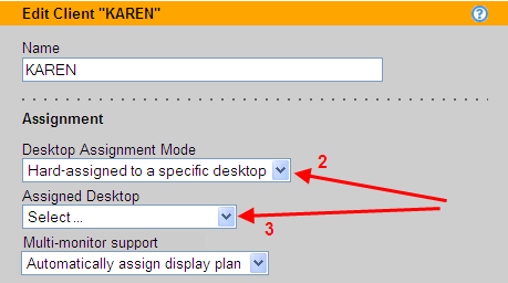 Chapter 12: Configuring User Experience by Client Location 1. Check the box associated with every client to delete.