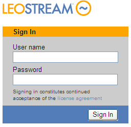 Leostream Connection Broker Administrator s Guide When the default Connection Broker Administrator signs in, they are always taken to the Connection Broker Administrator Web interface.