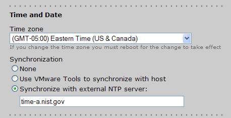 Chapter 3: Configuring Connection Broker Settings Setting Time and Date Use the Time zone drop-down menu to select your appropriate time zone.