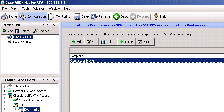 Leostream Connection Broker Administrator s Guide Add a bookmark to the new or existing bookmark list, as follows. 1. Click Add. The Add Bookmark dialog, shown in the following figure, opens. 2.