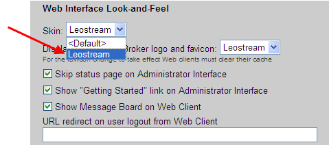 Leostream Connection Broker Administrator s Guide 7. In the Form Link Colors section, specify the colors to use for links located within the forms.