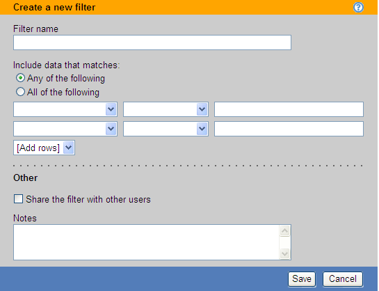 Leostream Connection Broker Administrator s Guide 2. In the Create a new filter page, enter a descriptive name for your filter in the Filter name edit field. 3.