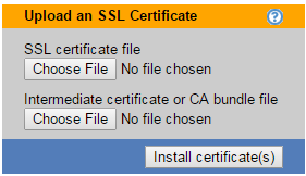 Leostream Connection Broker Administrator s Guide 4. Enter the SSL certification information, described in the previous section. 5. Click Save.