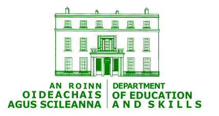 Rannóg Oideachais Múinteirí An Rinn Oideachais agus Scileanna Cr na Madadh Baile Átha Luain C. na hiarmhí Teacher Educatin Sectin Department f Educatin and Skills Crnamaddy Athlne C.
