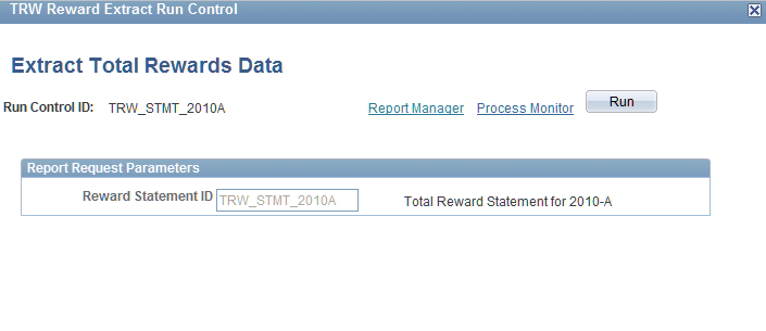 Implementing the Total Rewards Statement Chapter 7 Extract Total Rewards Data page Note.