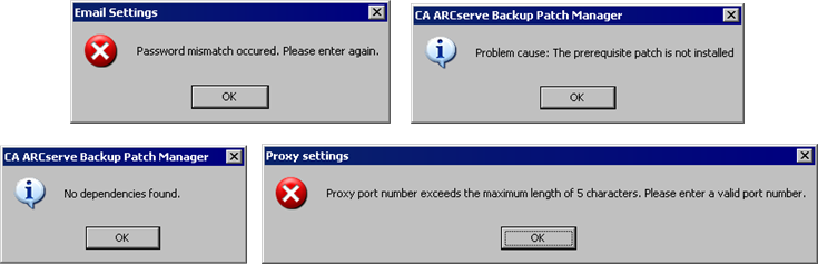 Chapter 4: Troubleshooting CA ARCserve Backup Patch Manager This section contains the following topics: Troubleshooting Overview (see page 65) Patch Manager Troubleshooting (see page 65)