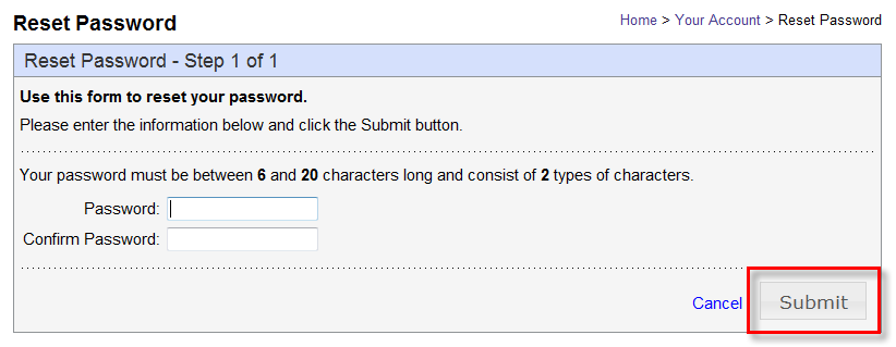 The second tab allows you to make changes to your username Update your username Click Submit The third tab allows you