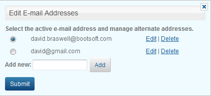 Primary Email This is the email address LeadRouter will use to send email notifications such as lead acceptance emails and lead update reminder emails.