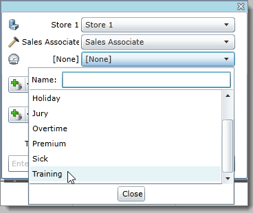 Override the pay code in the shift to indicate that the employee worked on a different task than his or her regular