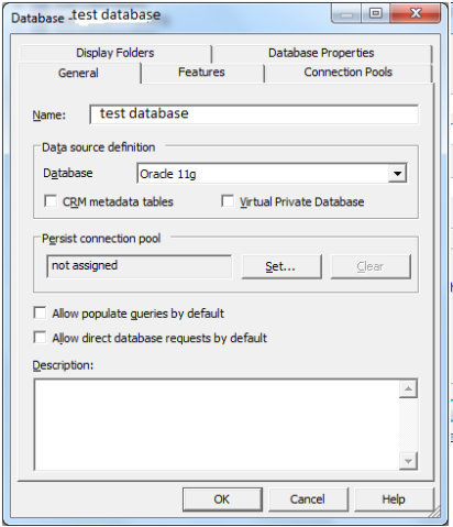 25 6. Select Connection Pool and select edit button. 7. Change old datasource name to new datasource name. 8.