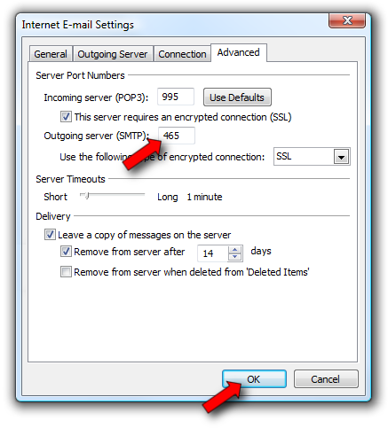 Enable SMTP Authentication Click the Outgoing Server tab, then check the box labeled My outgoing server (SMTP) requires authentication. Leave it set to Use same settings as my incoming mail server.