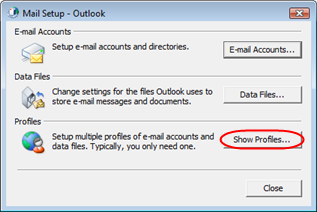 prompted. Step 22 Outlook will now load and synchronise with your Microsoft Exchange mailbox. For a new mailbox this will take no more than a few seconds.