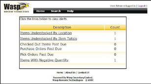 Inventory Control Web Viewer View inventory records from any PC Instantly view inventory data from any PC with the Inventory Control Web Viewer.