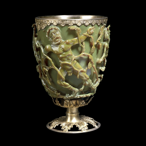 Plasmonics in the past: the Lycurgus cup The Lycurgus cup: Late