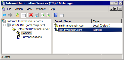 2. Select Internet Information Services (IIS) and click Details. 3. Select the SMTP Service option and click OK. 4. Click Next to finalize your configuration. Windows Server 2008 1.