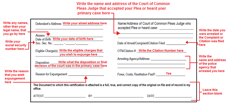 Page Five: Next to NAME, write your full legal name.