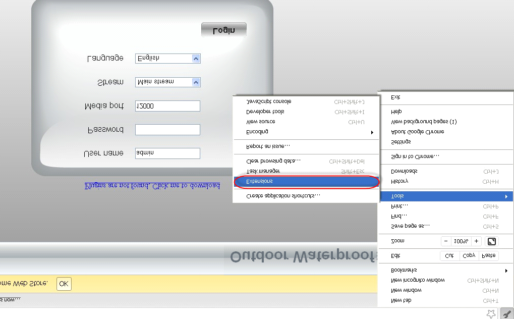Figure 6.3. Download the plugin and drag it to the Extensions page of Google Chrome.