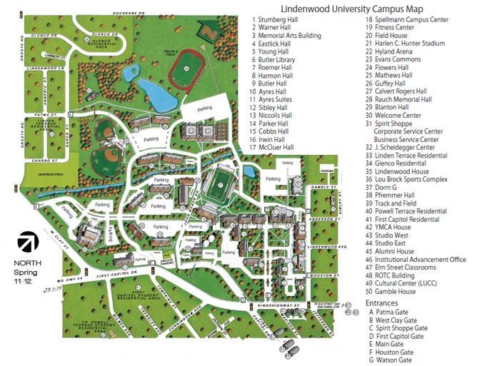 Millikin University Campus Map.School Of Business Entrepreneurship Graduate Student Handbook