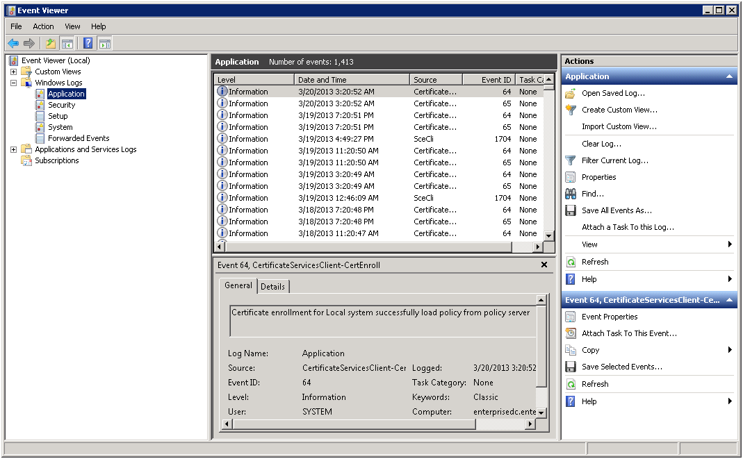 Figure 18: Manage Auditing and Security Log Properties Dialog 6. Click the Add User or Group button.
