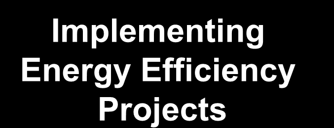 Energy Savings Performance Contracts for the Public Sector Energy Savings Performance Contracting (ESPC) Approach Turn-key