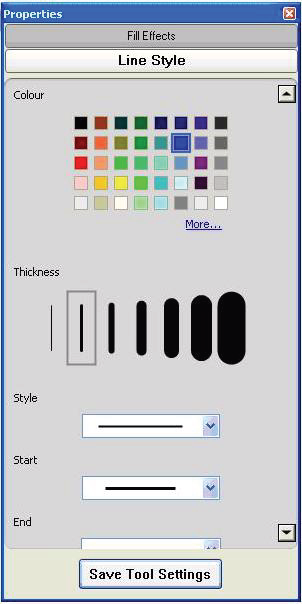 To add a button to the Floating Tools toolbar, drag the icon onto the toolbar. To remove a button, press the Customize button and drag the tool off the toolbar.