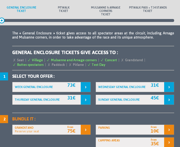 com Choose directly the ticket or the category of tickets that you are interested in.