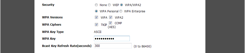 How to Configure the AP Profile on the DWC-1000 5 VLAN1 is the default setting for a new SSID. Keep it as VLAN1.