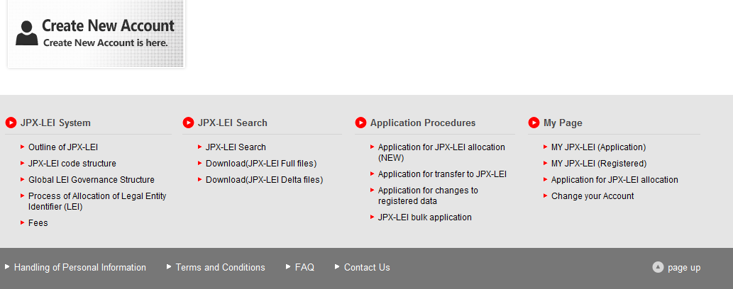 JPX-LEI Applicant<FAQ> Regarding fee and others, please look at