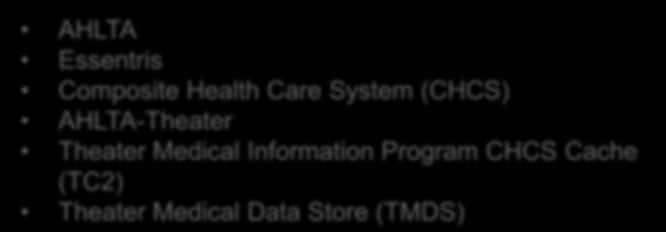 Current EHR Systems Working to maximize speed, availability, and usability of the