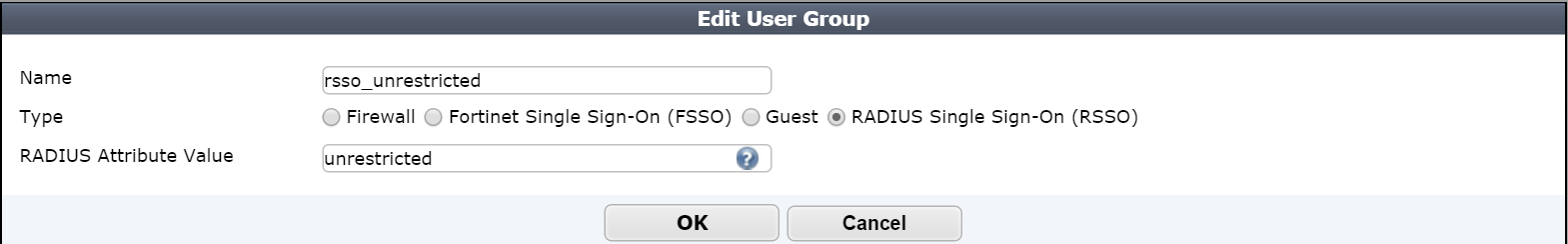2. Click on User & Device User User Groups Figure 4. Screenshot of User Groups in WebGUI 3. Click Create New Figure 5. Screenshot of User Groups 4. In the Edit User Group Page: a.