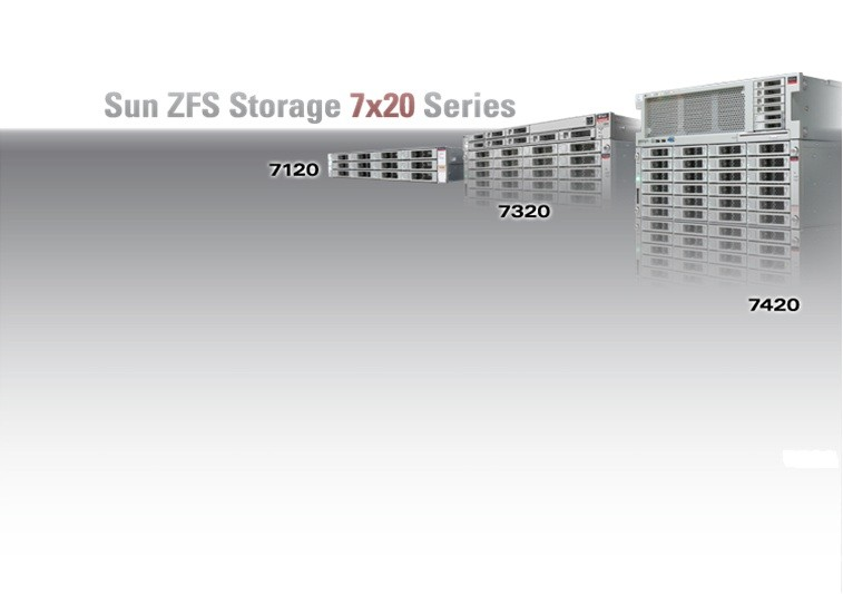 ZFS Storage Appliances Second Generation Systems BEST VALUE FULL SUITE OF DATA SERVICES STANDARD FEATURES (ALL MODELS) All Data Protocols: FC, iscsi, IB, NFS, CIFS, WebDAV, etc.