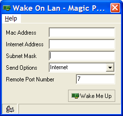 Using Wake on LAN Wake on LAN enables you to power up your office PC remotely meaning that you do not have to leave your office PC switched on and are effectively saving power.