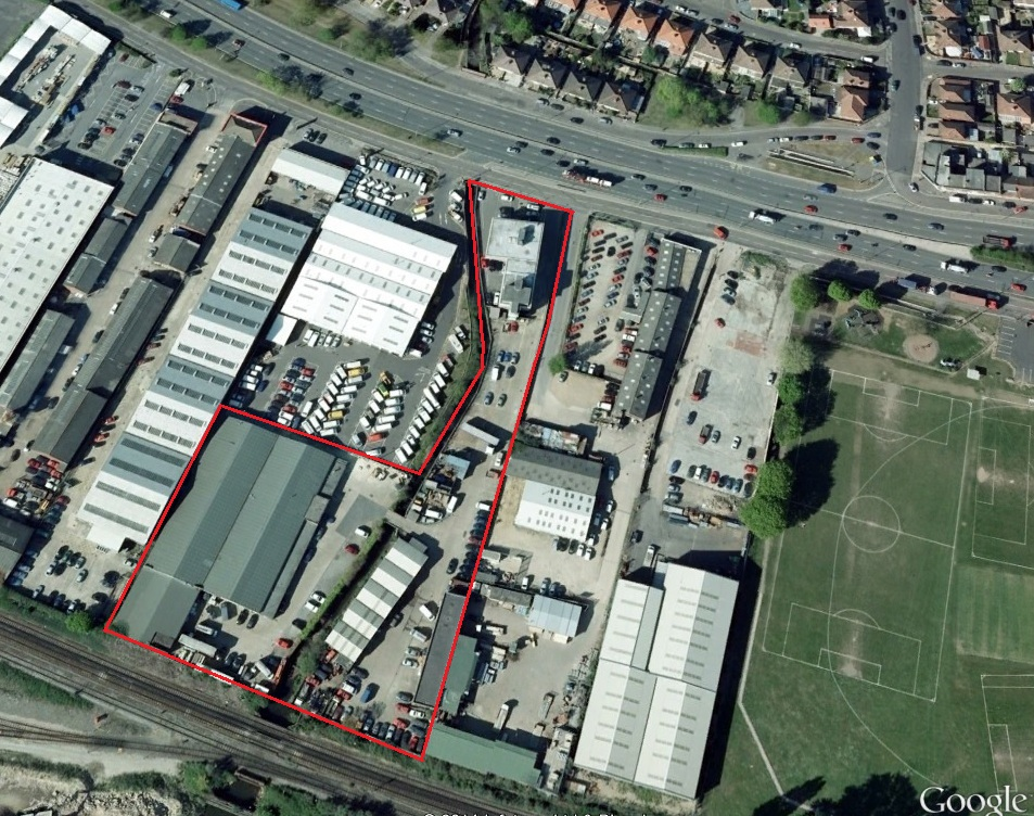 For Sale Of Interest to Owner Occupiers & Investors On the instructions of Prominent Site with Office Building & Industrial Units Portswood House, Brazier Industrial Estate, Third Avenue, Southampton