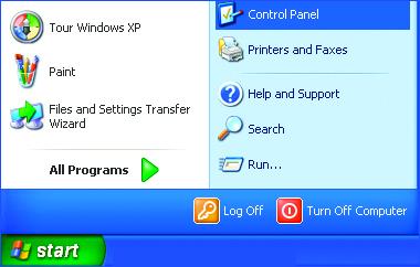 Networking Basics Checking the IP Address in Windows XP This window will appear.