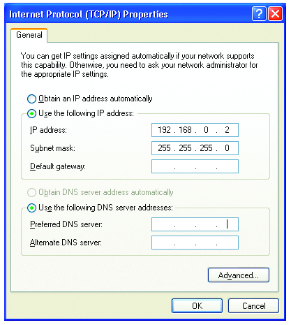 Networking Basics Assigning a Static IP Address in Windows XP/2000 Click on Internet Protocol (TCP/IP) Click Properties Input your IP address and subnet mask.