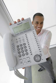 34 5.VoIP Solution By using IP phones as extensions, there is no need to change the settings at the PBX each time the office layout is changed, as is normally required.