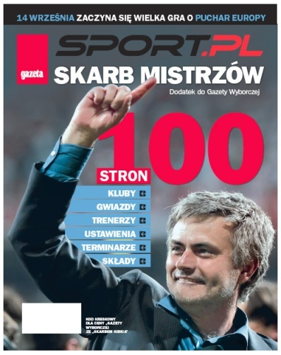 The press arm of sports reaches even further The SPORT section in Friday s Gazeta Telewizyjna [Television Guide]