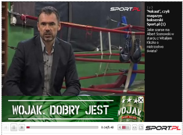 Sport.pl likes video Separated editorial office within the Sport.