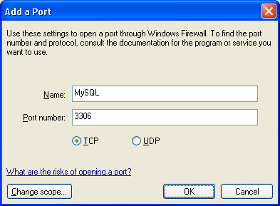 Setup 15 After clicking OK twice, return to the MySQL error message and select Retry. MySQL should now be able to create the instance correctly. 3.
