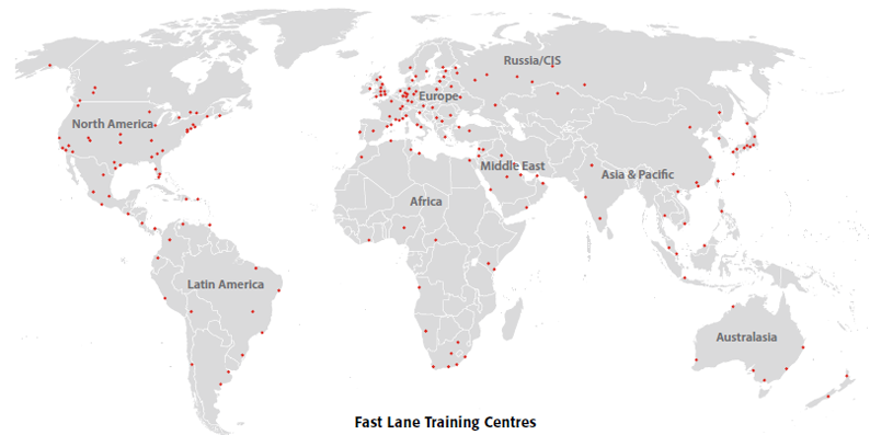 operational in 60 countries across the globe.