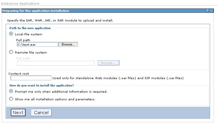 At this point, all the necessary elements to deploy and use the JMS queue have been defined and are ready to use.