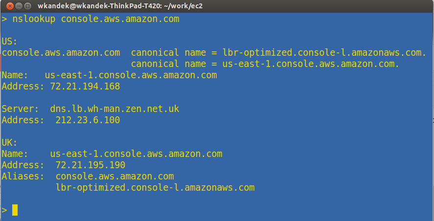 Do we use AWS already?