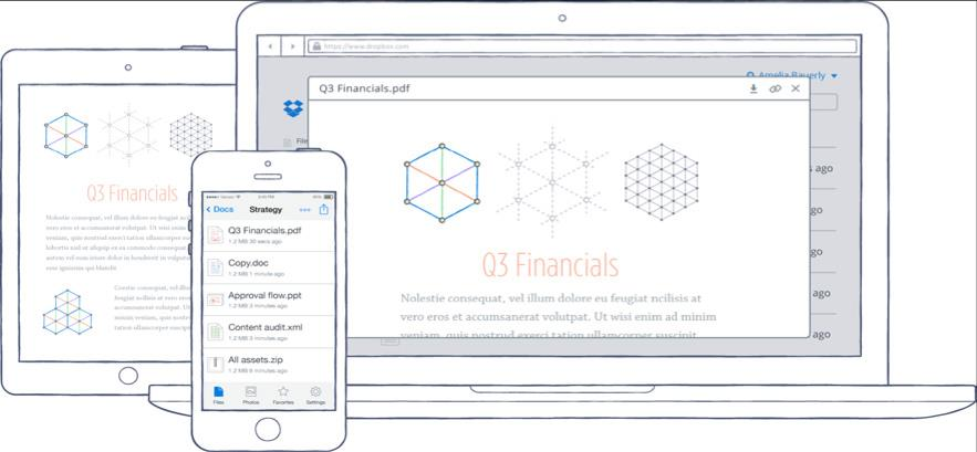 Introduction Dropbox is a service millions of users trust to easily and reliably store, sync, and share documents, photos, and videos across any device or platform.