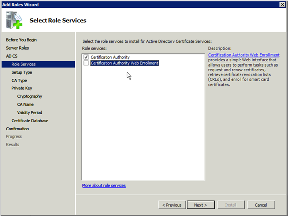 Microsoft KB 980436 patch needs to be installed on Microsoft Certificate Services server. Microsoft KB 272175 Guidelines for configuring client certificate authentication mode for IIS 6.