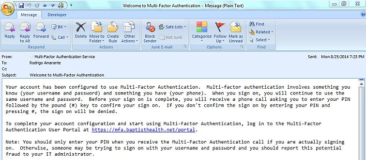 Guide for Setting Up Your Multi-Factor Authentication Account and Using Multi-Factor Authentication This document serves as a How To reference guide for employees to execute the following MFA tasks: