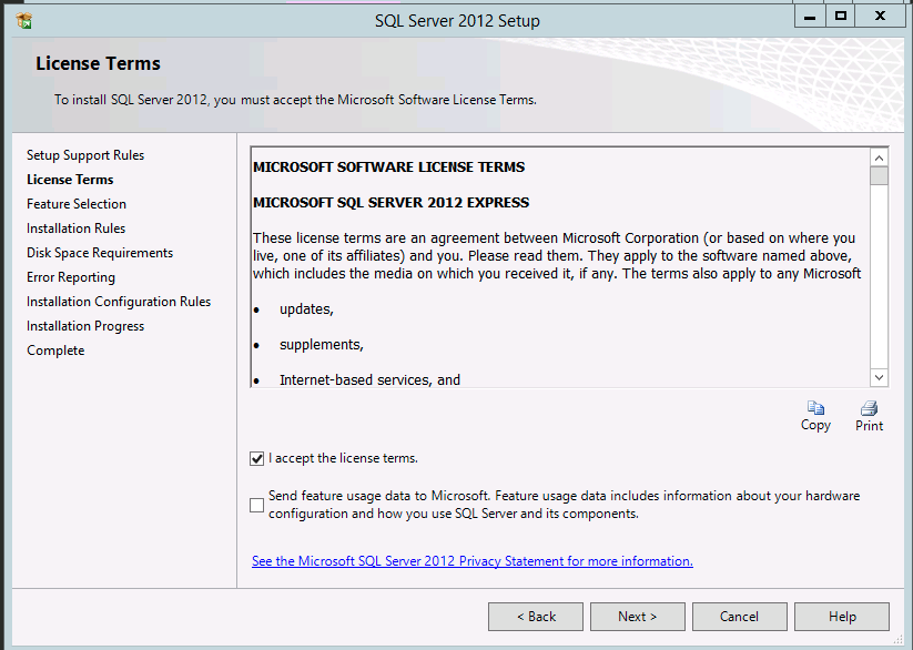 Install SQL Server Management Studio Browse to where you downloaded the SQL Server installer and double-click the file.
