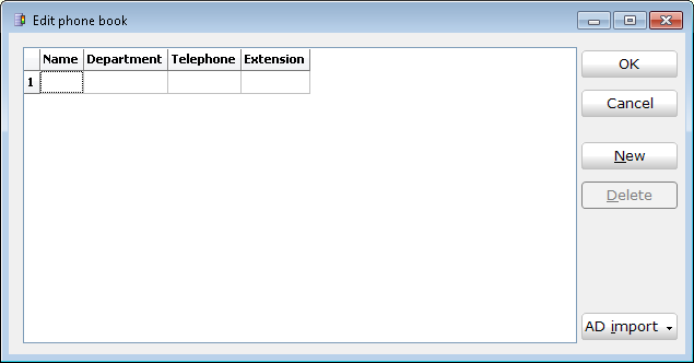 Page 11 of 16 Figure 6.0: MobileStatus Phonebook configuration. The phonebook data file location displays which folder the MobileStatus Server phonebook is located in.