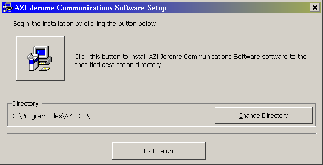 4. SOFTWARE INSTALLATION 4.1. Starting the Software Turn on your PC and place the JCS Software CD into the computer s CD drive. If the program fails to start: Select Start and Run.