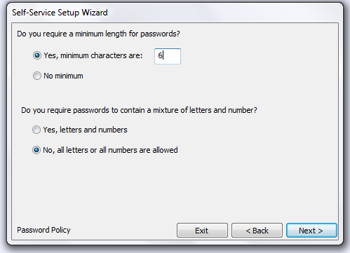 How would you like your employees User ID to be formatted? Select from one of the options.